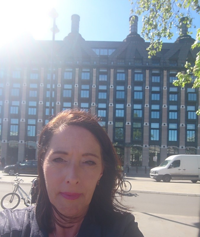 Debbie Shannon from Link Psychology Co-op at Westminster